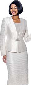 Susanna 3958 - Womens Church Skirt Suit With Lace Trim Design