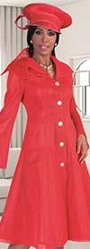 Tally Taylor 4583 - Asymmetric Ruffled Collar Mesh Fabric Dress