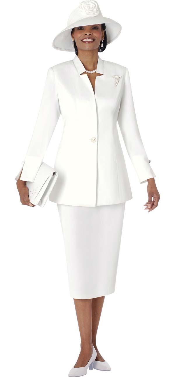 Terramina 6100 - Womens Church Suit With Star Neckline Jacket