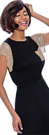 Raquel 1237 - Womens Mesh Sleeve Top