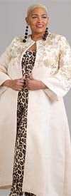 Why Dress-7182 - Womens Robe Duster With Floral Design
