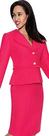 D.Vine DV1156 - Ladies Two Piece Skirt Suit