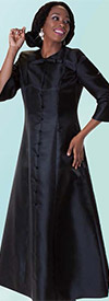 Tally Taylor 4576 One Piece Long Dress With Detachable Bow
