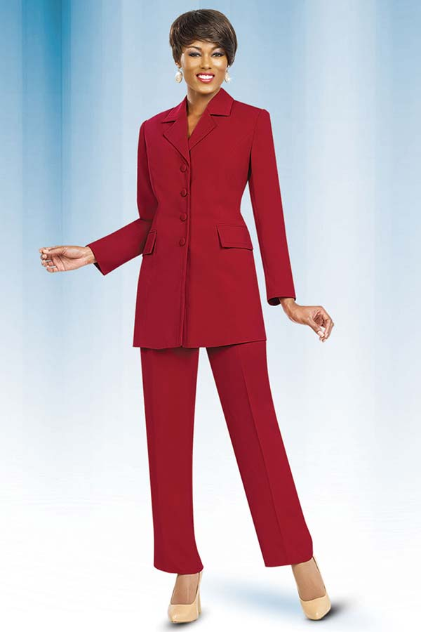 Womens Career Suits By Ben Marc Executive 10496 Red Expressurway