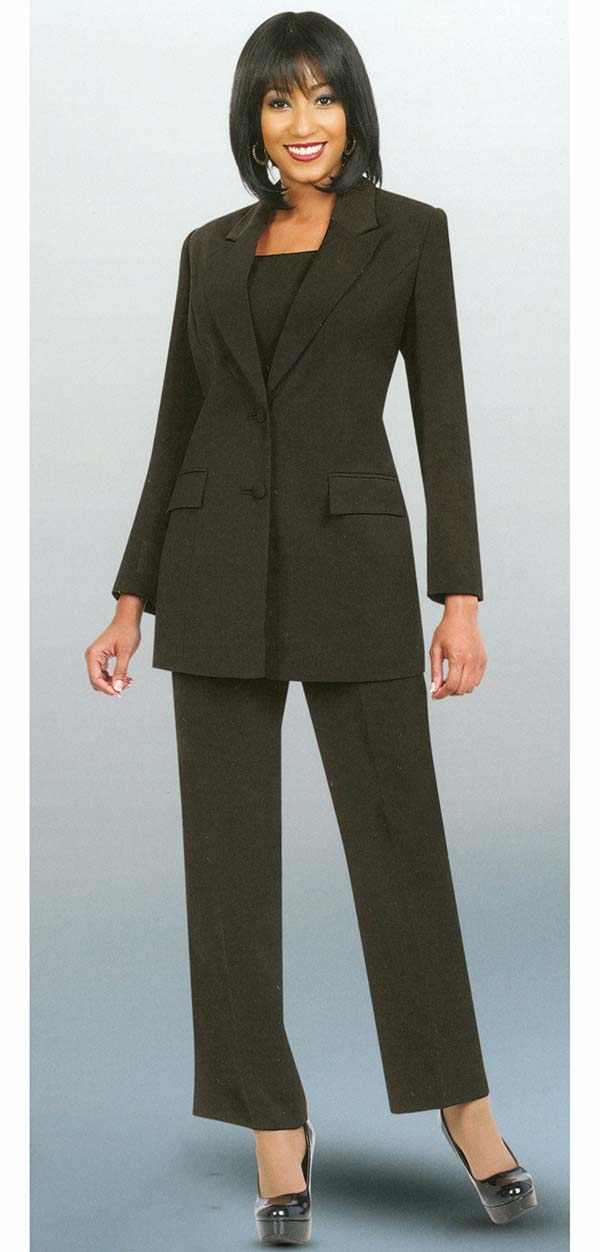 Ben Marc Executive 10499-Black - Business Trouser Suit Uniform For Women