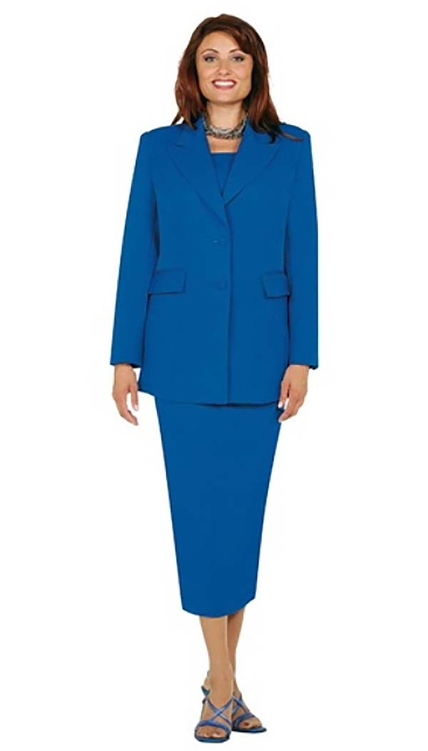 Ben Marc 2299-Royal - Usher Style Suit with Peak Lapels