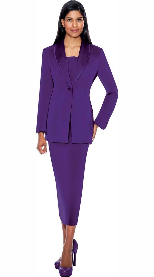 Gmi G12272 Purple Womens Usher Suit Expressurway