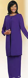 Misty Lane 13057-Purple - Three Piece Choir Outfit For Women