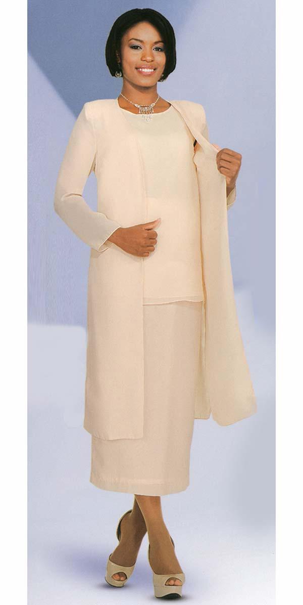 Misty Lane 13058-Chardonnay - Three Piece Choir Suit For Women