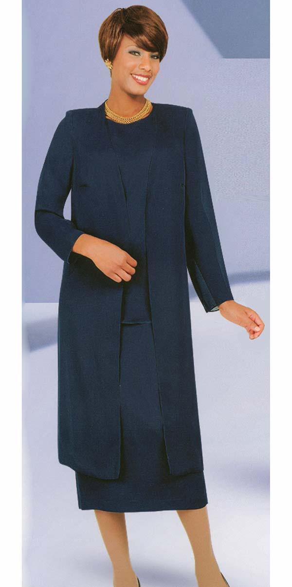 Misty Lane 13058-Navy - Three Piece Choir Suit For Women