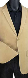 Vinci BCORD-1 Mens Slim Fit Sport Coat In Corduroy Design