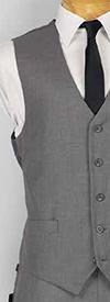 Vinci OV-900 Mens Five-Button Vest