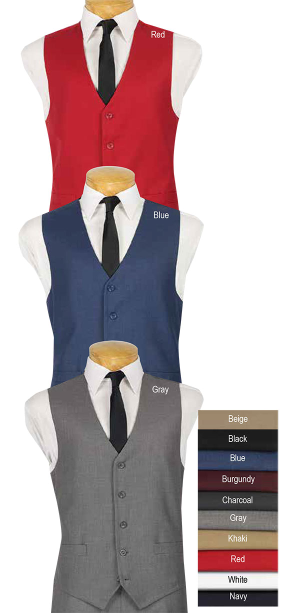 Vinci OV-900 Mens Five-Button Vest