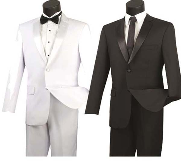 Vinci T-900 Tuxedo With Sateen Trimmed Pants