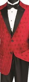 Vinci T-DV Tuxedo With Fancy Diamond Pattern