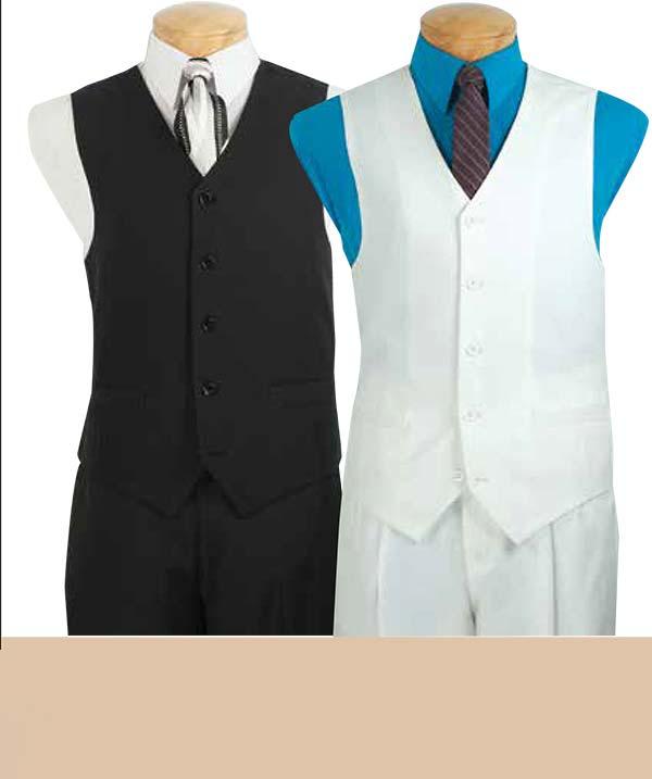 Vinci V-PP Five-Button Vest For Men