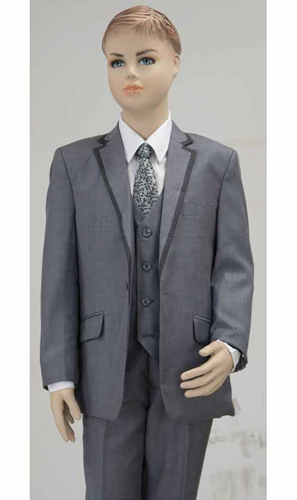 Vittorio St. Angelo BOY103 Five Piece Boys Suit For Church