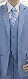 Vittorio St. Angelo BOY104 Five Piece Boys Suit For Church