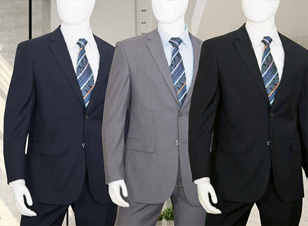 Vittorio St. Angelo C602F Two-Piece Mens Church Suit