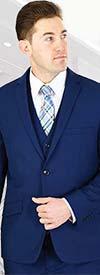 Vittorio St. Angelo TS62KR - Three Piece Slim Fit Mens Church Suit