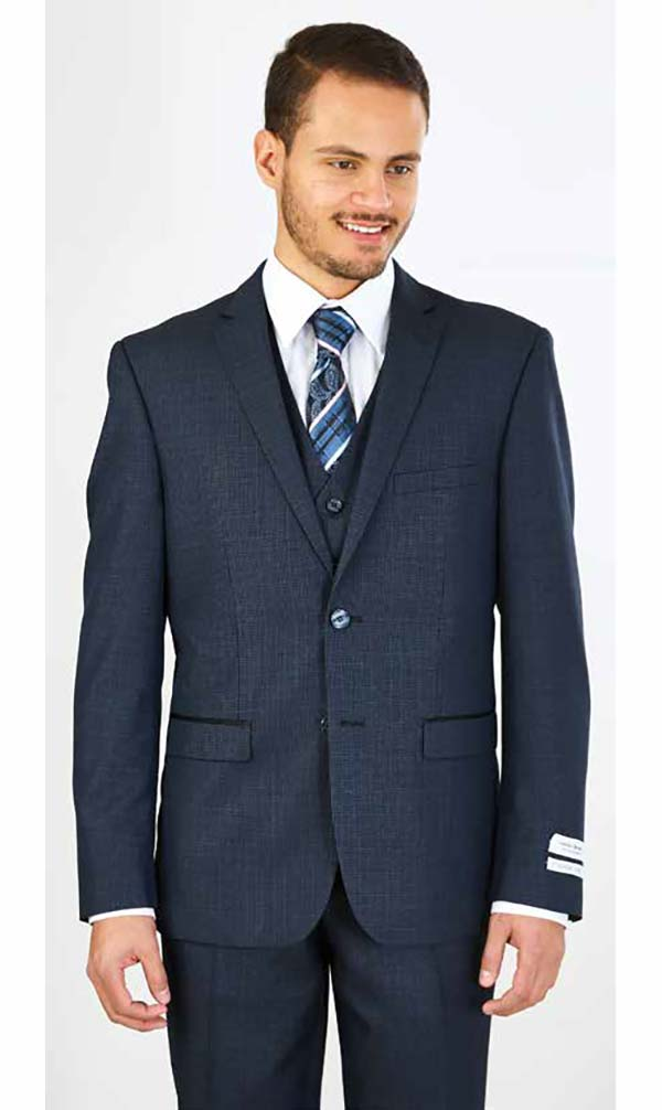 Vittorio St. Angelo FS62H - Mens Three Piece Slim Fit Church Suit