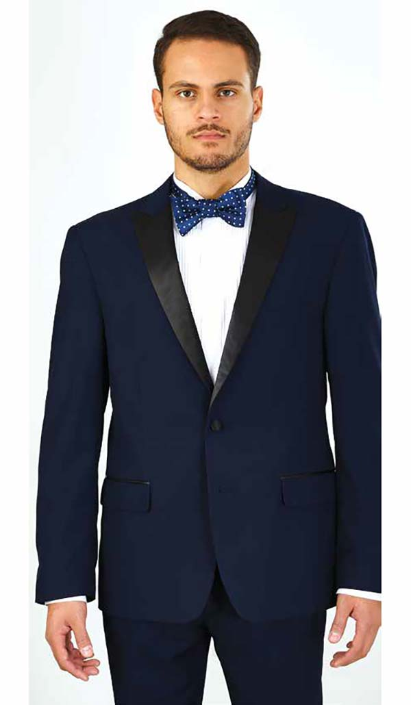 Vittorio St. Angelo YS62P - Two Piece Slim Fit Mens Tuxedo